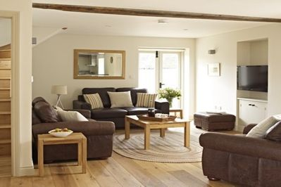 Sitting room in Orchard cottage