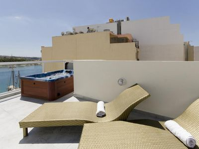 Photo for Sundrenched Sliema 3-bd Penthouse