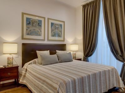 Photo for DELICIOUS, furnished with style, all comfort, 8 min. from the Vatican. Casa Benedetto