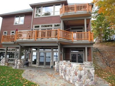 Photo for Great Outdoors Lodge -Torch Lake Luxury Home - Perfect Retreat