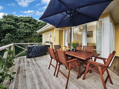 Photo for Surfer's Sunshine Cottage - Piha Holiday Home