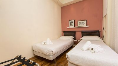 Photo for Elegant apartment located close to the St. Peter's Basilica for 6 people