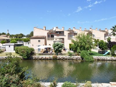 Photo for COZY 3-Bedroom Alcudia House with LAKE VIEWS & PRIVATE GARDEN