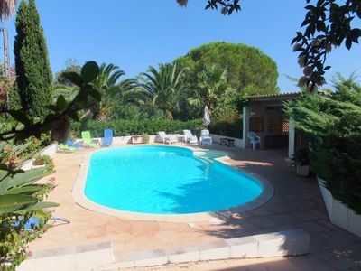 Photo for A beautiful 240-sq.m villa 10 min from Marana Beach and 25 min from St-Florent