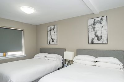Spacious Bedroom with Hotel Quality Queen and Double Beds