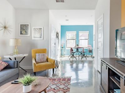 Photo for Explore the River Walk from New Designer Retro-Chic Downtown Home