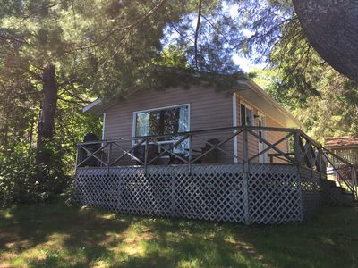 Photo for Lakeside Family Micro-Cottage North of Parry Sound and Muskoka