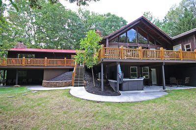 High Point Lodge with Indoor Saltwater Pool in the Hocking Hills -  Rockbridge