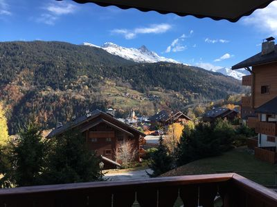Photo for Charming apartment overlooking the valley Meribel