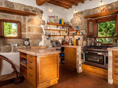 Photo for Beautifully restored stone villa with large private pool and stunning views.