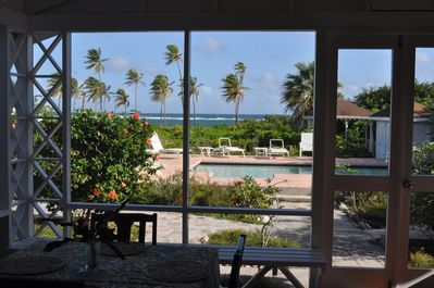View from the screened in porch.