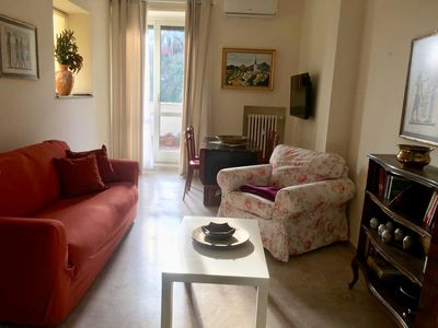 Photo for new apartment with large terrace a few steps from Trastevere and Testaccio 2