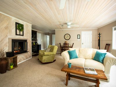 Sunnyslope Retreat | Private Entry,  Fireplace, AC & Sleep Number Bed