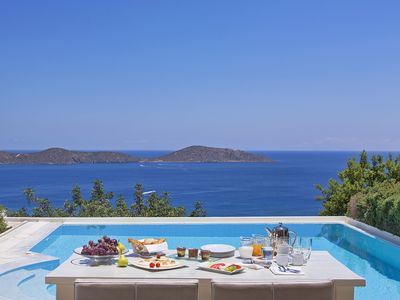 Photo for Villa Judy, in luxury complex in Crete, with private pool, 3 bedrooms, 6 sleeps