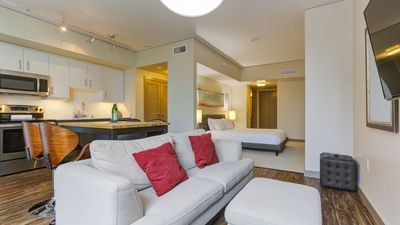 Photo for The sky is the limit in this stunning 2BD condo, self-checkin