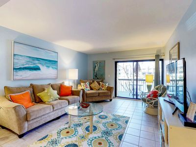 Photo for Beachfront villa w/ shared pool & hot tub, pool, and tennis court