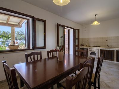 Photo for Pino apartment in Marina San Gregorio with WiFi, private parking, private terrace & balcony.