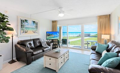 Photo for Oceanfront...Ground Floor...Amazing Ocean Views ... Large HD LED Plasma TV's