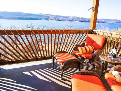Photo for Reduced Spring Rate. Fabulous View of Table Rock Lake! Condo at Indian Point (near SDC).  WI-FI