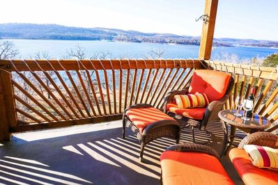 Fabulous View of Tablerock Lake from Your Private Deck