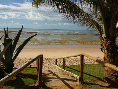 Photo for Cottage in Village on the best beach in the North Coast of Bahia