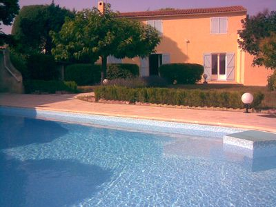 Photo for Villa great pool / near Aix - 7/8 persons