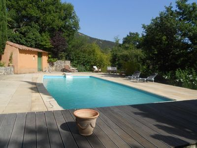 Photo for Heaven ! Charming cottage DolceVita 4pers, very quiet, facing south, Mont Ventoux