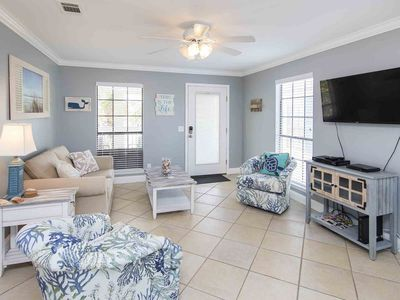 Photo for Brand New Vacation Rental! Close to Panama City Beach and 30A! Beach Condo with Just steps to the Sand.