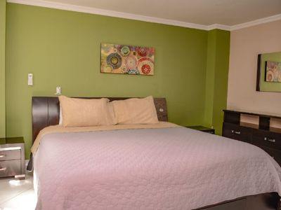 Photo for 4 bedroom Combo of 2 Apartments in Park Lleras AC all Bedrooms. Wifi 2 hot tubs