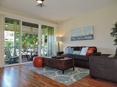 Photo for Luxurious Quiet Princeville Condo.Furnished as second home.Fabulous Pool!