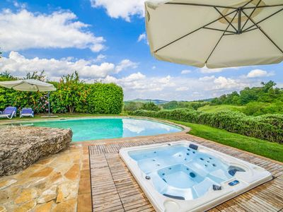 Photo for Casale Silvia: Large Private Pool, A/C, WiFi