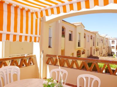 Photo for Empuriabrava holiday apartment 300 meters from the beach