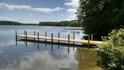 our dock!
