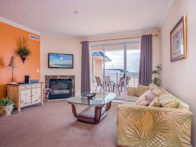 Photo for Beautiful newer construction condo on the ocean and the boardwalk with a pool!