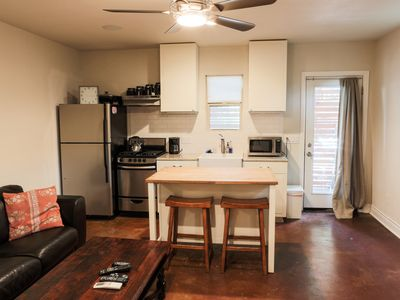 Photo for Travis Heights Studio with Very Private Setting, but Steps from SOCO Congress