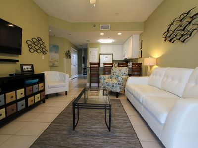Photo for Luxurious beachfront view ~ 1BR+Bunk