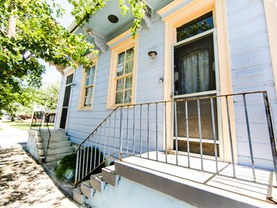 Photo for Tremé Marais Victorian | Perfect for Groups | Steps to French Quarter