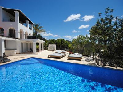 Photo for 8 Bedroom Villa with Stunning Panoramic Views,close to Cala Salada & San Antonio