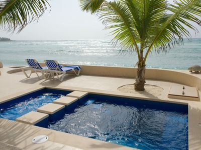 Photo for Beachfront Home With Private Pool and Rooftop Deck