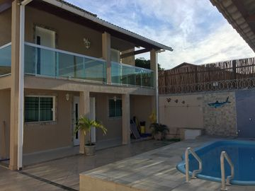 House Peró with pool detached house 5 minutes from the beach walking
