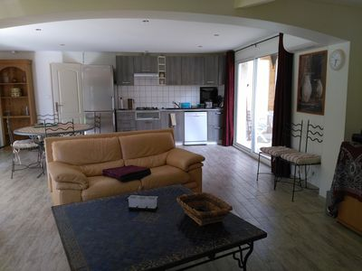 Photo for house 91m², 3 bedrooms, 6 people, swimming pool and garden near Montpellier