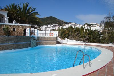 Award winning swimming pool.  There is also a sauna that is sometimes available.