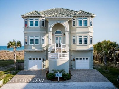 Photo for Oceanfront, 6 Bedrooms, Pool, Wedding Friendly