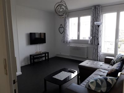 Photo for 2BR Apartment Vacation Rental in Vaulx-en-Velin