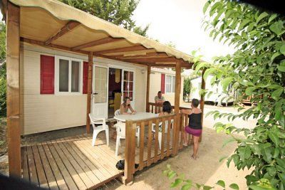 Photo for Camping Les Amandiers **** - mobile home 6 people - 6 places (between 0 and 5 years)