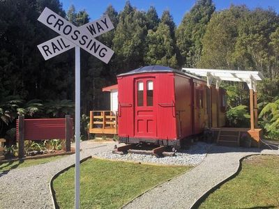 Photo for Unique Train carriage 100+ years old - Te Pahika