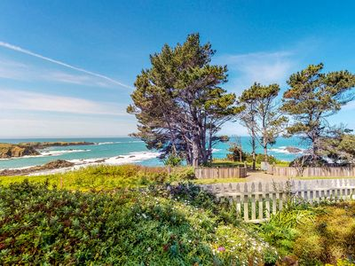 Photo for Comfortable & inviting cottage w/enclosed yard, ocean views & near the ocean!