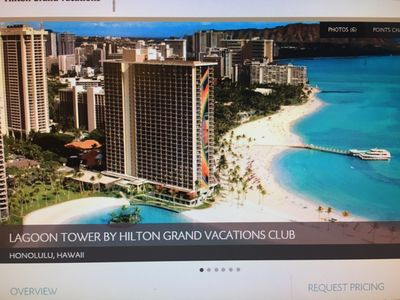 Hilton Hawaiian Village - Lagoon Tower - Mar 30 - Apr 7 Ocean View 1BR
