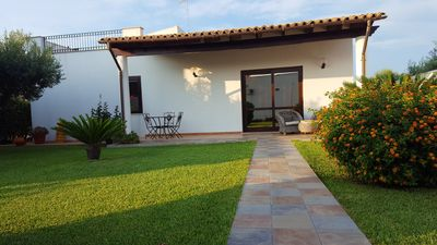 Photo for Homerez last minute deal - Nice house near the beach and garden