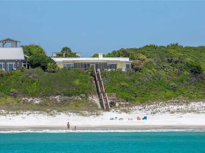 Photo for Cliffview- Gulf Front, 30A, Blue Mountain Beach, Private Boardwalk, Large Porch!